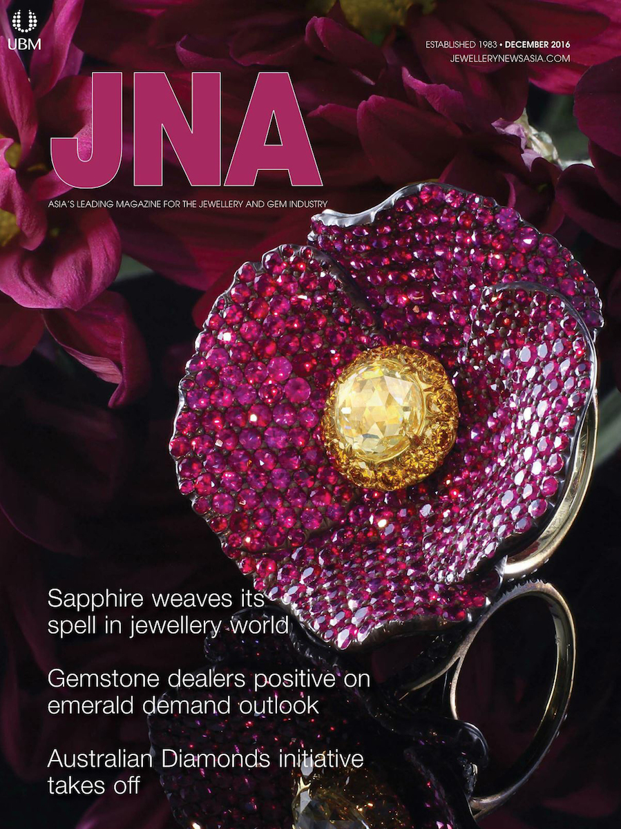 Leon Mege ring on cover of JNA magazine 2016
