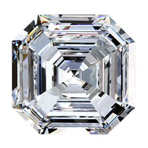 Leon Mege Asscher cut diamond