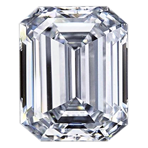 Leon Mege Emerald cut diamond