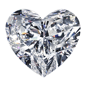 Leon Mege Heart Shape cut diamond