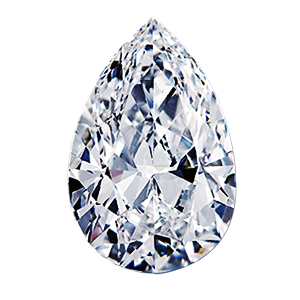 Leon Mege Pear Shape diamond