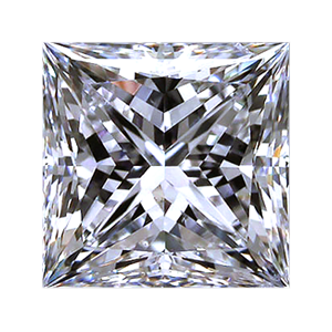Leon Mege Princess cut diamond