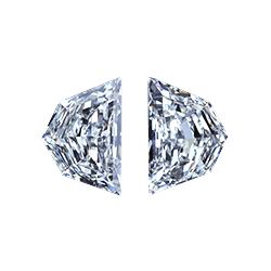 chevrons side stone diamond leon mege